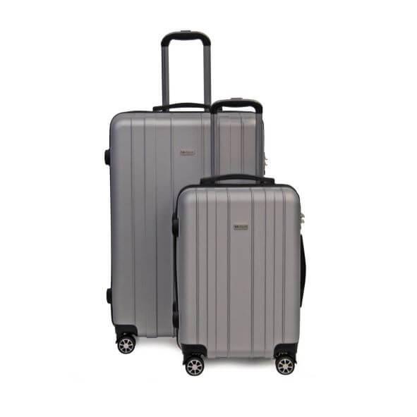 f283c807d871 A Medoodi Rio 2 piece 4-wheel luggage set