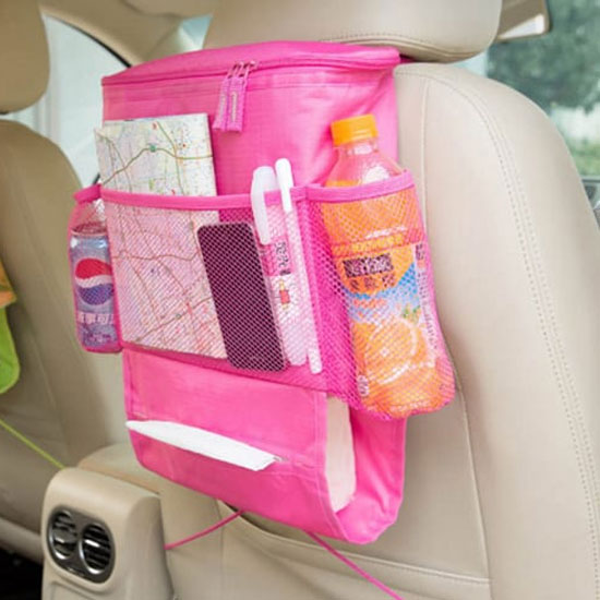 4Akid-BackSeat-Car-Organizer-with-Drinks-Cooler-pink