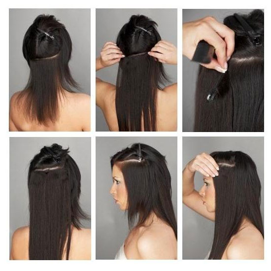 Hollywood-Hair - Secret Clip-In Hair-Extensions