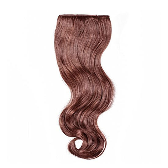 Hollywood Hair - Secret Clip-In Hair Extensions - Light Red/Brown