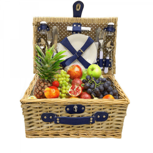 Wicker-Picnic-Basket-Set-4-people