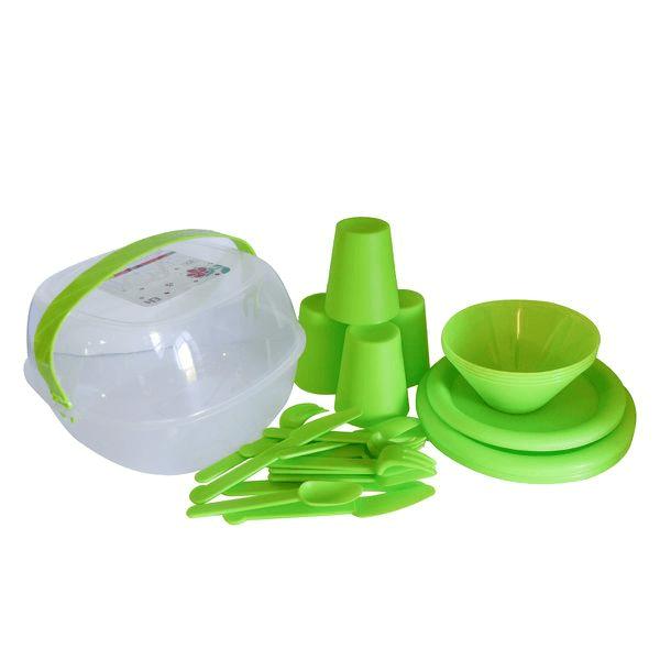 30-Piece-Picnic-Set-Lime-Green