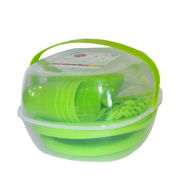 30-Piece-Picnic-Set-Lime-Green