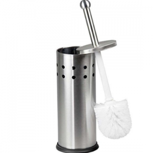 New-Stainless-Steel-Toilet-Brush-and-Holder - Round