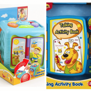 Winfun-Bundle - side-to-side discovery cube-and-talking-activity-book