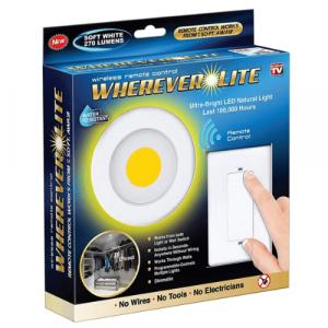wireless battery wall light
